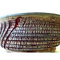Pot craquelé pour bonsaï, cactus plante succulente ou à caudex