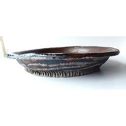 Pot rond rustique pour bonsaï ou composition de cactus ou de succulentes