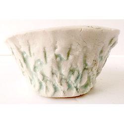 Pot en porcelaine pour kusammono, cactus ou plante succulente