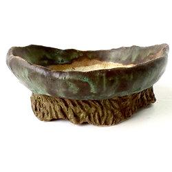 Pot pour bonsaï shohin, plante succulente ou cactus