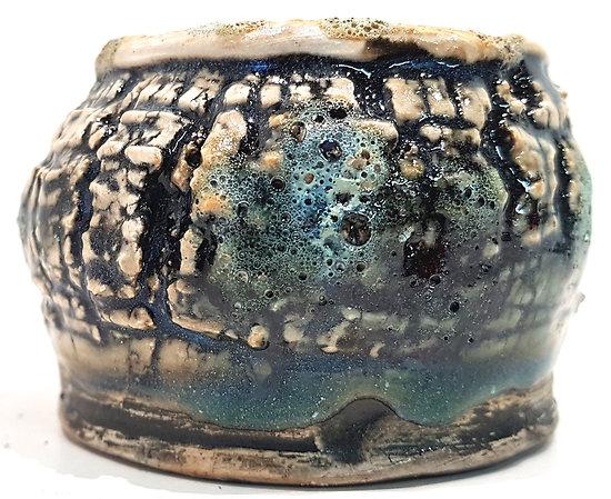 Petit pot en céramique , vide poche, brûle encens, ikebana