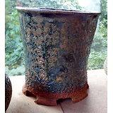 Pot profond pour bonsaï cascade ou semi cascade, cactus, plante succulente ou carnivore