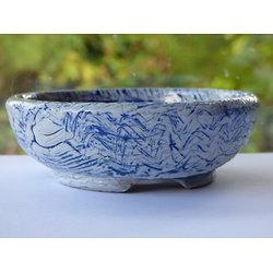 Pot recouvert de porcelaine, pour bonsaï, cactus ou plante succulente
