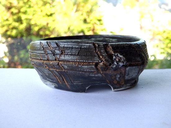 Pot en porcelaine pour kusamono, plante d'accent, plante succulente, cactus ou bonsaï mame