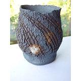 pot haut en grès pour bonsaï mame cascade, cactus ou plante succulente