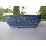 Pot en grès et porcelaine pour bonsaï ou composition de cactus ou plantes succulentes