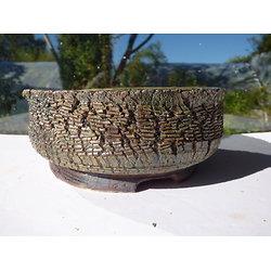 Pot rond pour bonsaï cactus ou plante succulente