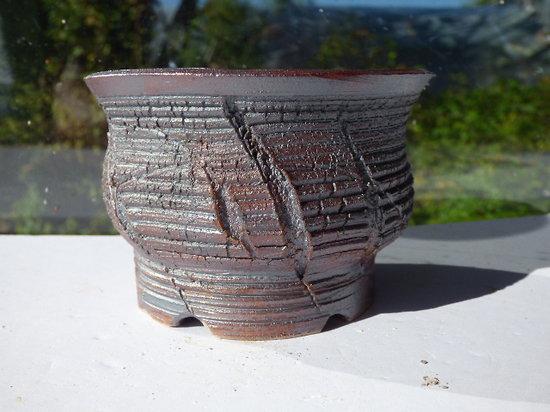 Pot pour bonsaï mame, plante d'accent, kusamono, cactus ou succulente