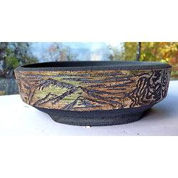 Pot pour bonsaï, cactus plante verte ou succulente