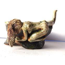 Scuplture coupelle pour Ikebana ou décoration