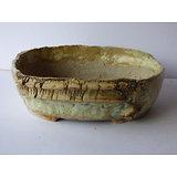 Pot ovale pour bonsai, cactus ou plante succulente