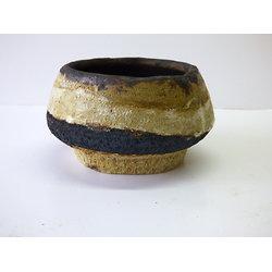 Coupelle en grès pouvant aussi servir de contenant pour ikebana