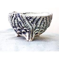 Pot en porcelaine pour bonsaï mame, cactus, plante d'accompagnement ou plante succulente