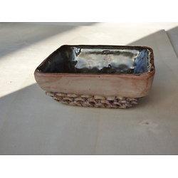 Ramequin carré, pouvant servir pour Ikébana