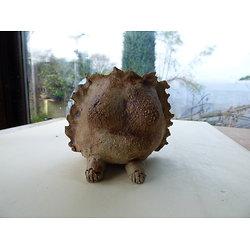 """Pot  """"sculpture"""" pour cactus, plante succulente ou plante verte"""