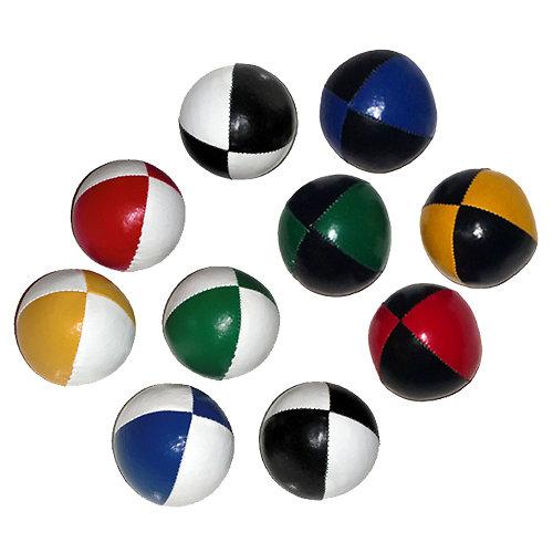 Balle souple initiation bicolore