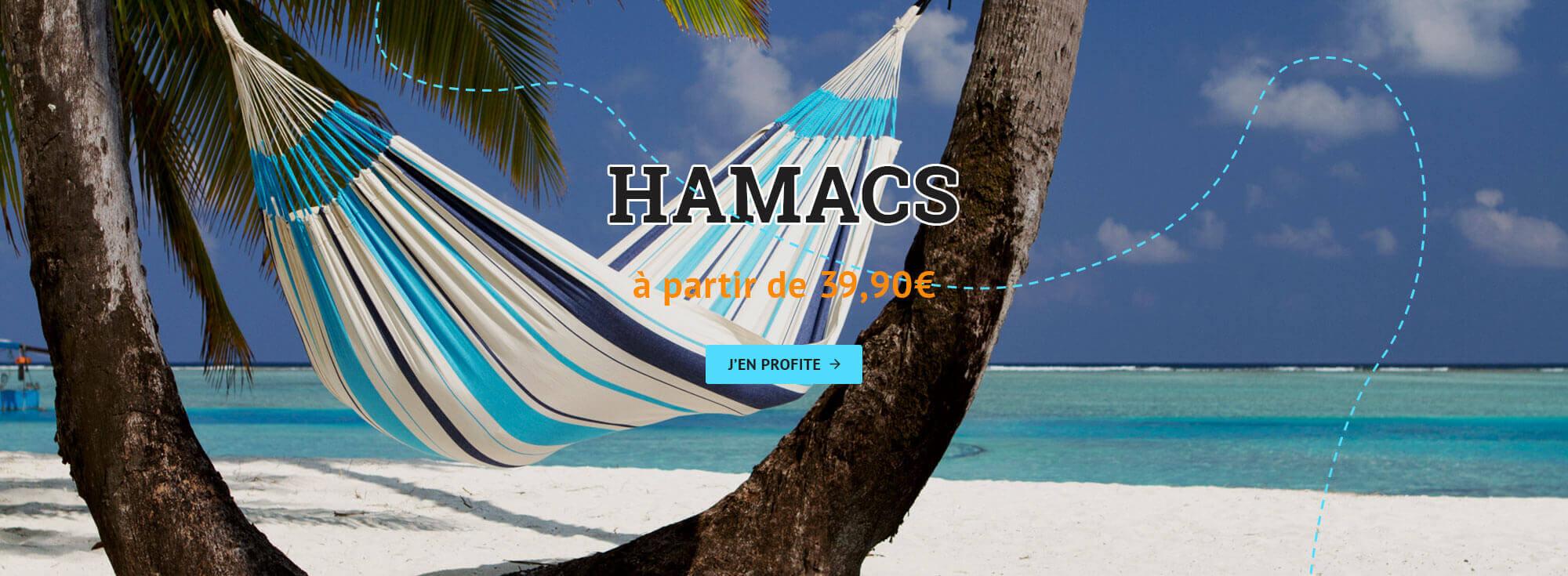 Hamac simple, double, triple, de voyage ou pour enfant