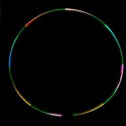 Hula Hoop Lumineux 95cm