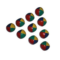 Balle de jonglage souple junior