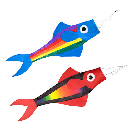 Manche à air poisson