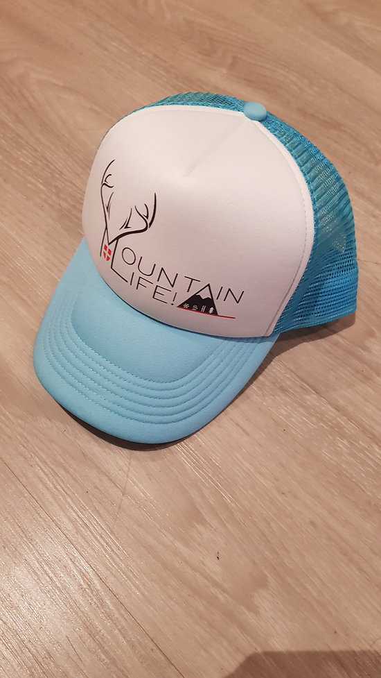 CASQUETTE MOUNTAIN LIFE TURQUOISE