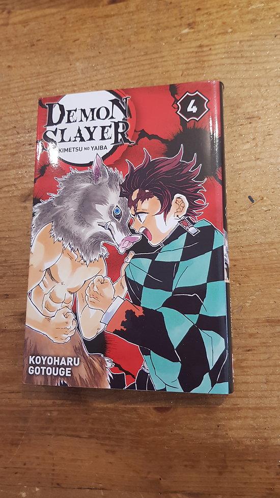 Tome 4 Demon slayer
