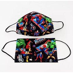 Lot de 10 masques jetables Super héros Avengers