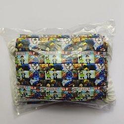 Lot de 10 masques jetables ROBLOX enfant