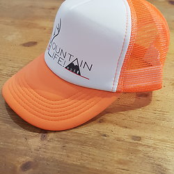 CASQUETTE MOUNTAIN LIFE ORANGE