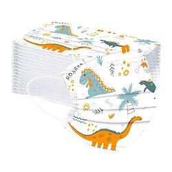 Masques enfant Dinosaures X10