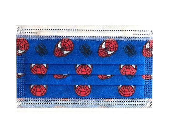 Masques jetables Spiderman enfant