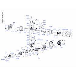 Plan éclaté moteur GPL290