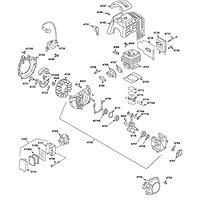 Plan éclaté moteur G43L-D