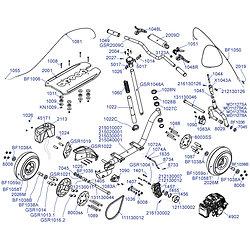 Plan éclaté modèle Super GSR46R