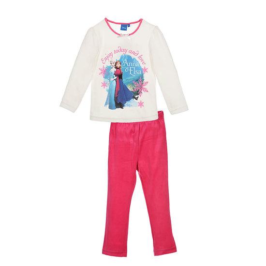 Pyjama velours LA REINE DES NEIGES