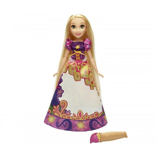 Poupée RAIPONCE robe magique