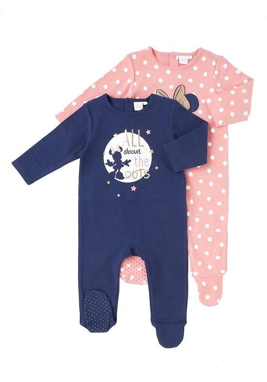 Lot de 2 pyjamas MINNIE
