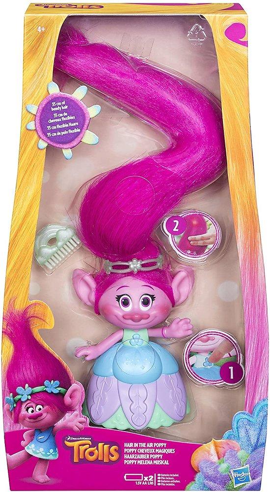Poppy cheveux magiques TROLLS