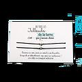 Carte Filleul ou Filleule - On choisit pas sa famille + Duo de Bracelets