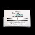 Carte Neveu ou Nièce - On choisit pas sa famille + Duo de Bracelets