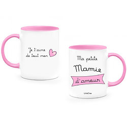 MUG Mamie d'amour Personnalisable