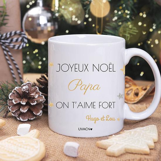 MUG Joyeux Noël à personnaliser