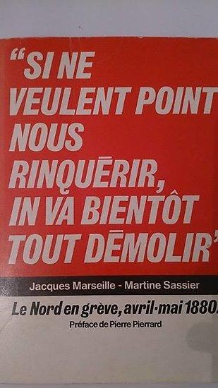 Jacques Marseille et Martine Sassier