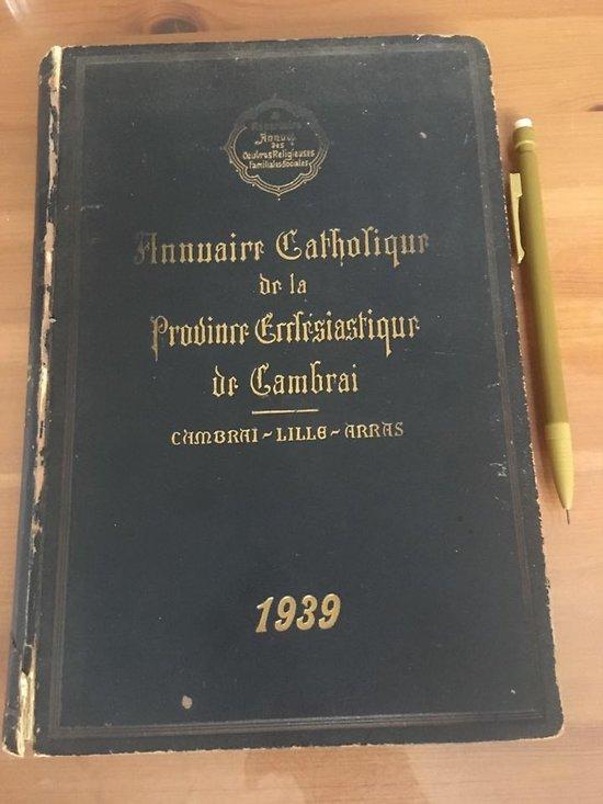 Annuaire Catholique de la Province Eclésiastique de Cambrai