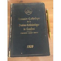 ANNUAIRE CATHOLIQUE DE LA PROVINCE ECLESIASTIQUE DE CAMBRAI