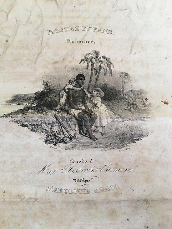 MADAME DESBORDES VALMORE - ADOLPHE ADAM