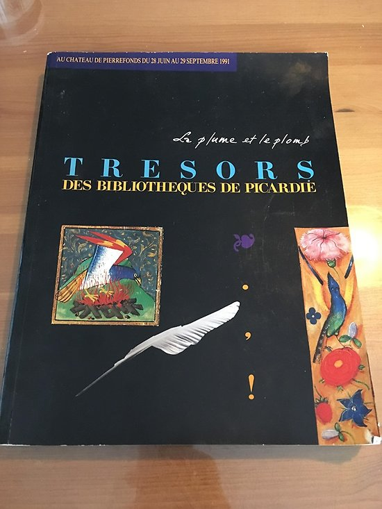 TRESORS DES BIBLIOTHEQUES DE PICARDIE
