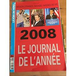 JOURNAL DE L'ANNEE 2008