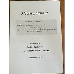 J'ECRIS POURTANT