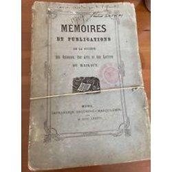 Mémoires et publications de la société des Sciences, des Arts et des Lettres